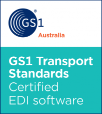 GS1 Transport Standards Certified EDI software