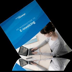 E-invoicing cover mockup